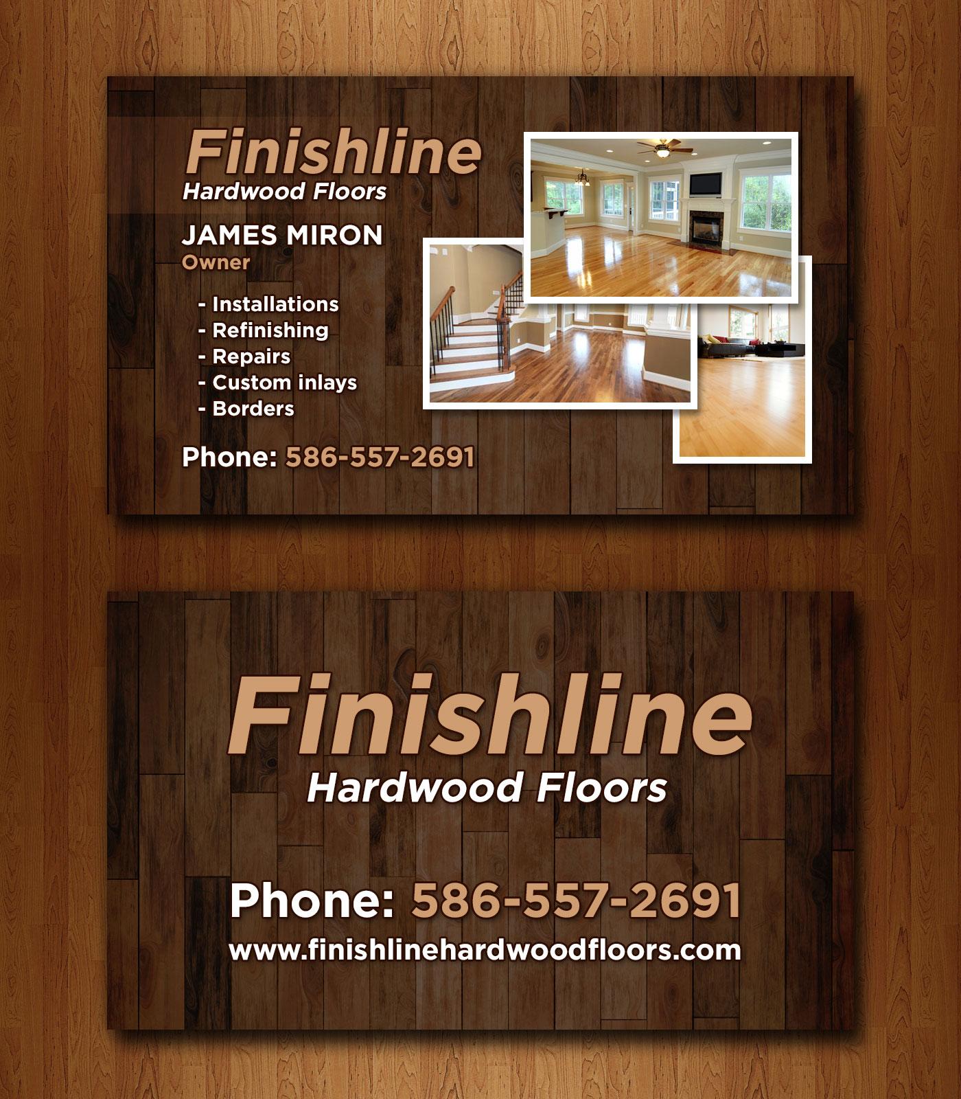 Flooring business cards floors doors interior design for Hardwood flooring company